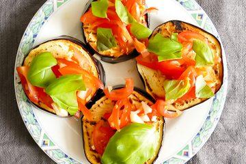gegrilde aubergine