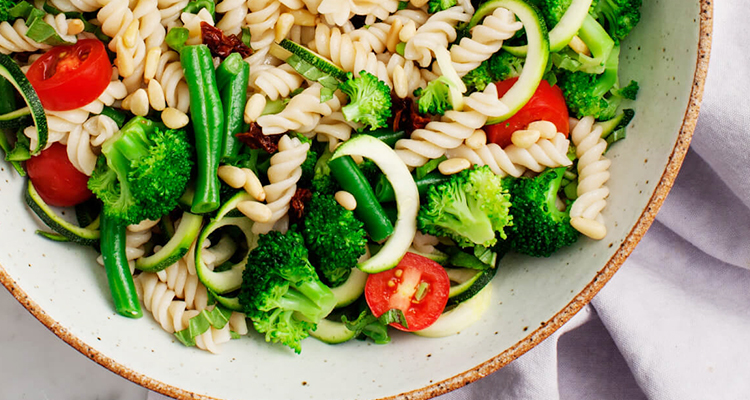 koude broccoli pasta maken