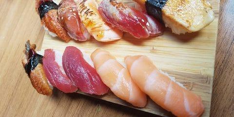 sushi blue sakura