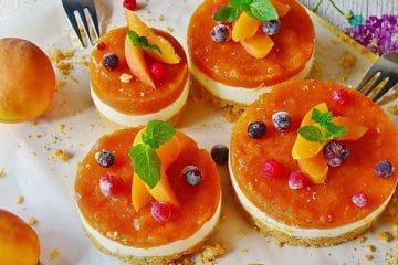 abrikozen kwark taart