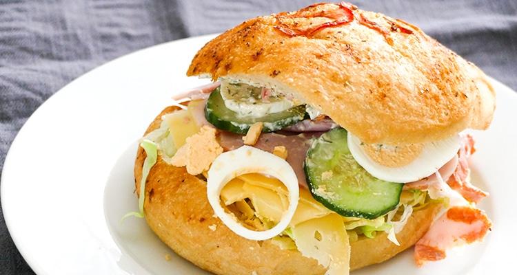 Uitzonderlijk Recept Lekkerste broodje gezond - Lekkere recepten foodblog ✓ @QV81
