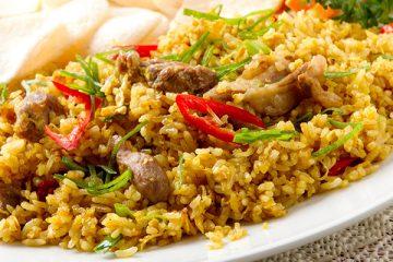 gebakken rijst recept