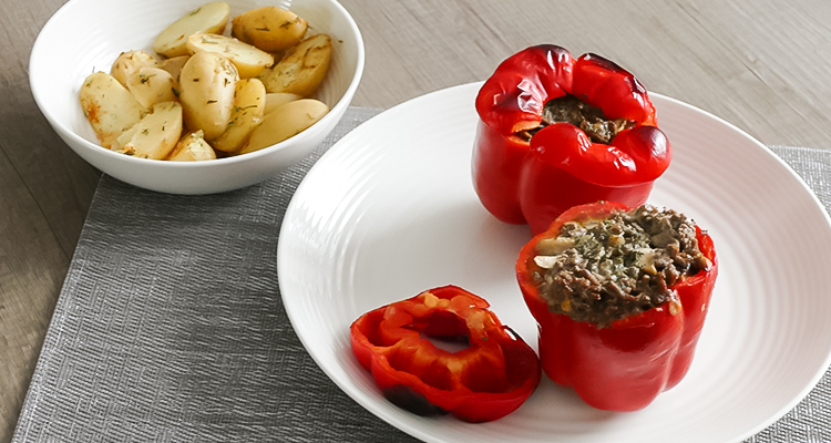 gevulde paprika maken