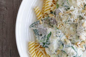 lekkere pasta met gehakt