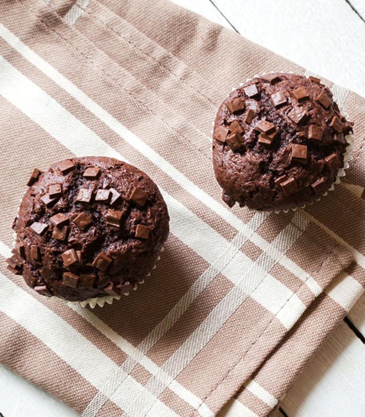 muffin chocolade recept
