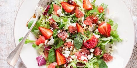 aardbei salade