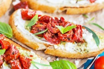 bruschetta met tomaat