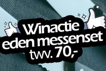 win een messenset