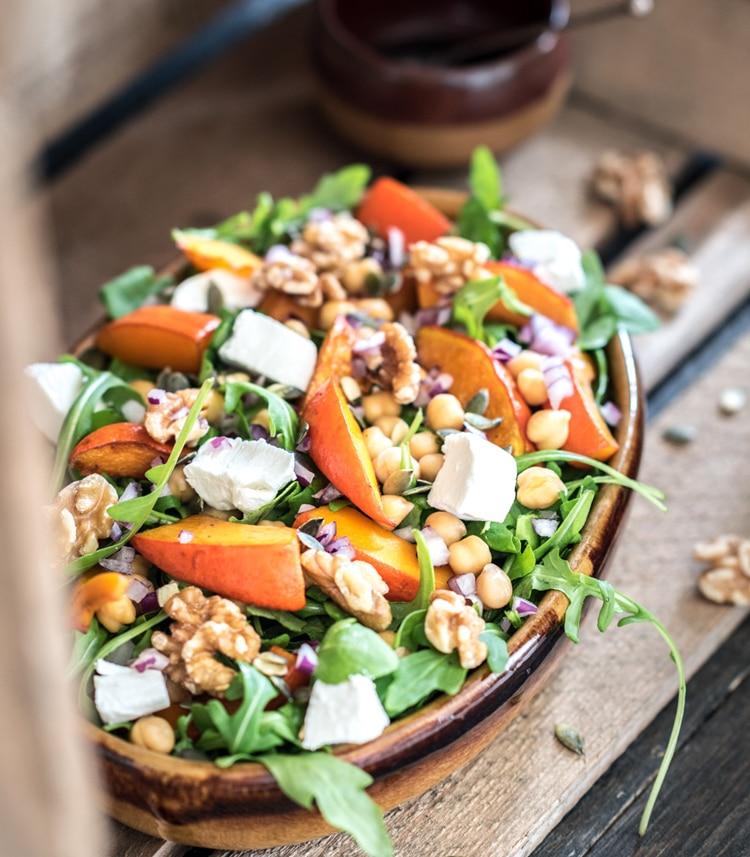pompoen salade recept